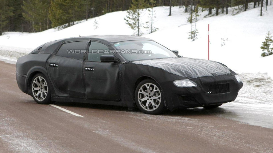 2014 Maserati Quattroporte spied testing around Nurburgring [video]