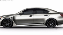Lexus PROJECT LS F SPORT by Five Axis going to SEMA