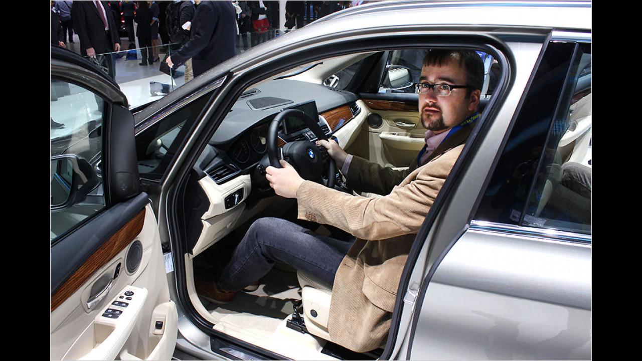 Genf 2014: BMW 2er Active Tourer im ersten Check