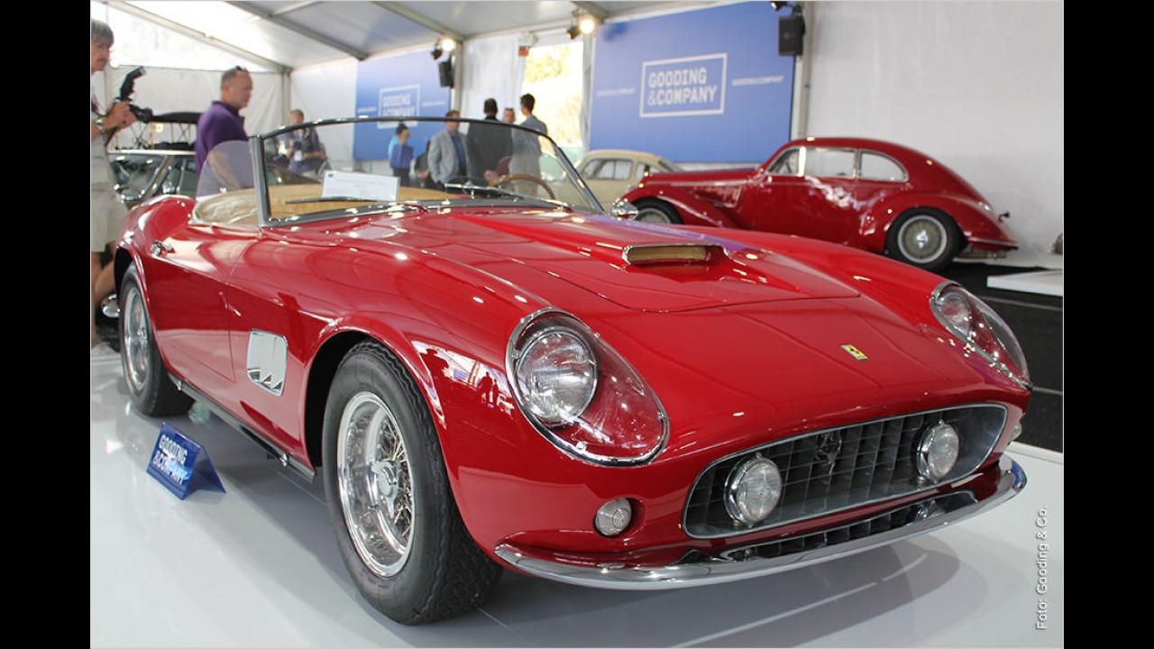 Platz 4: Ferrari 250 GT California Spyder SWB, Baujahr 1961