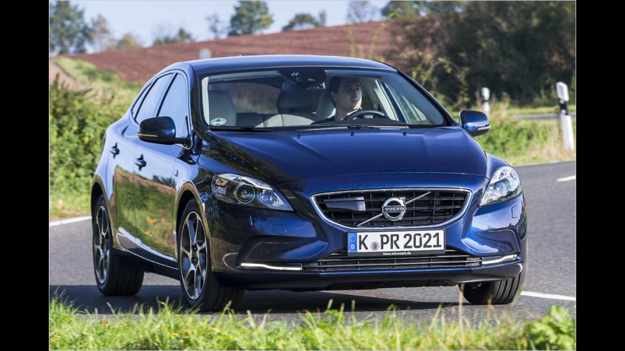 Platz 2: Volvo V40 D4