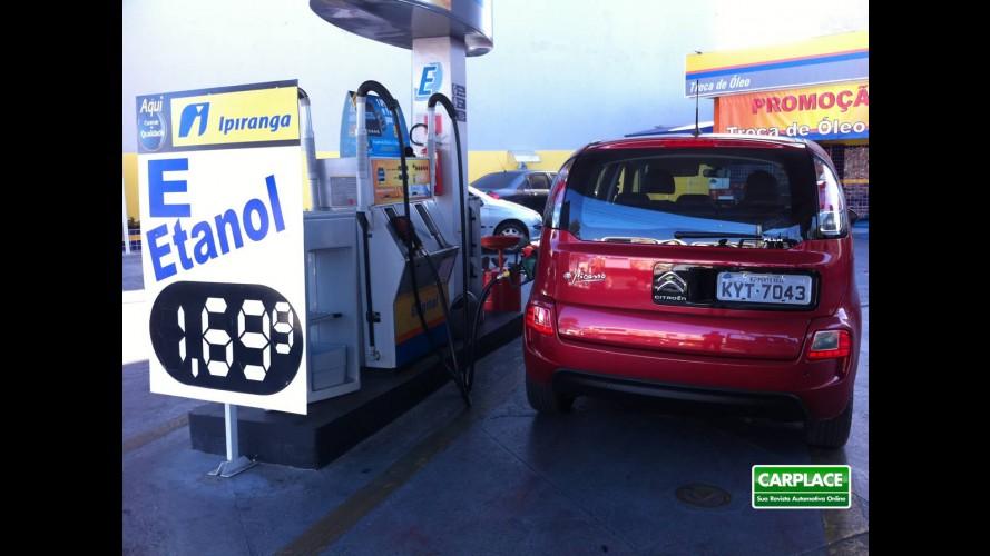 Garagem CARPLACE: Consumo do Citroën C3 Picasso e custo de manutenção