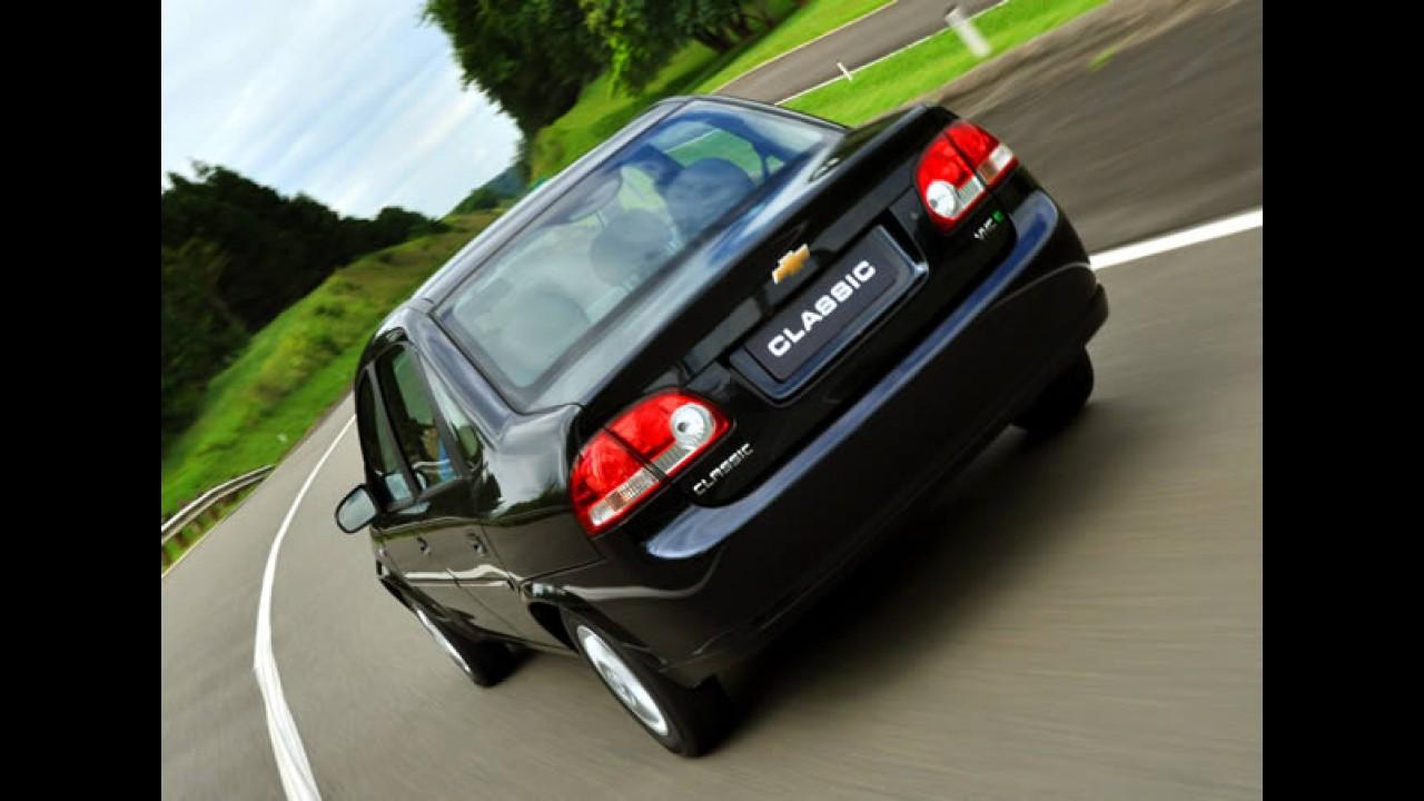Recall: Chevrolet convoca Classic e Montana por problemas na suspensão