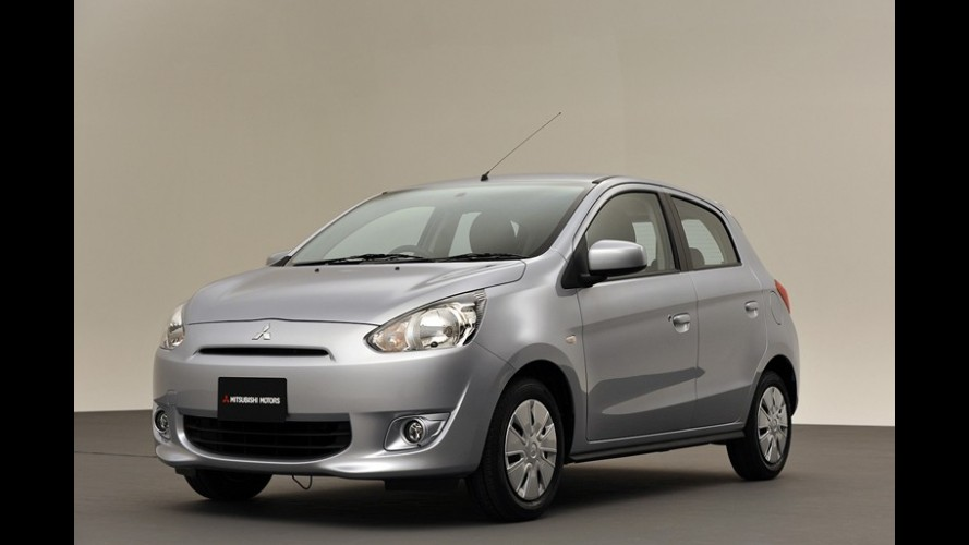 Mitsubishi inicia vendas do hatch compacto Mirage na Tailândia