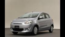Mitsubishi inicia vendas do hatch compacto Mirage na Tailândia