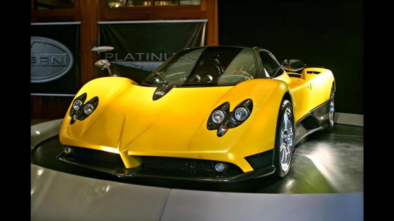 Carro mais caro vendido no Brasil: Empresário de São Paulo compra Pagani Zonda F