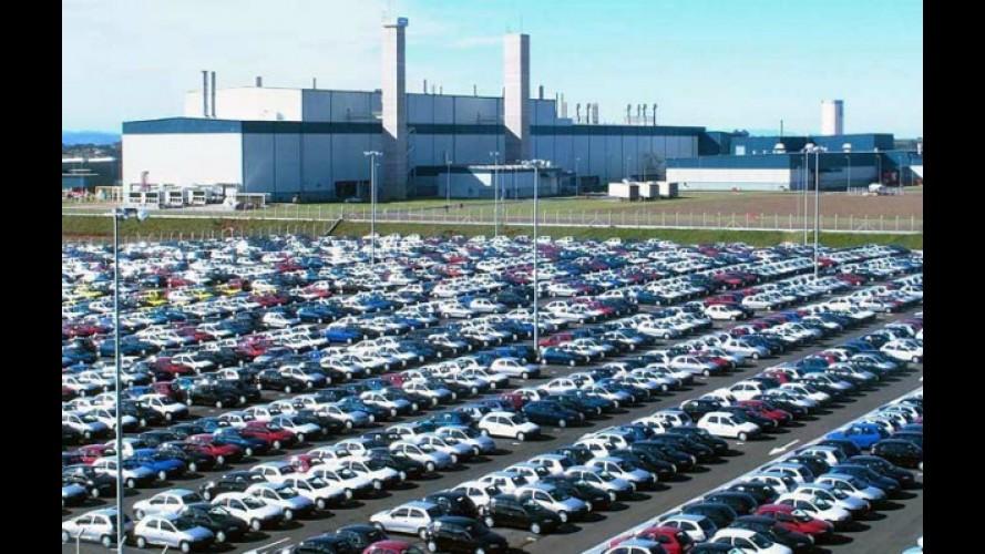 BRASIL, resultados de fevereiro de 2012: Vendas caem quase 9%