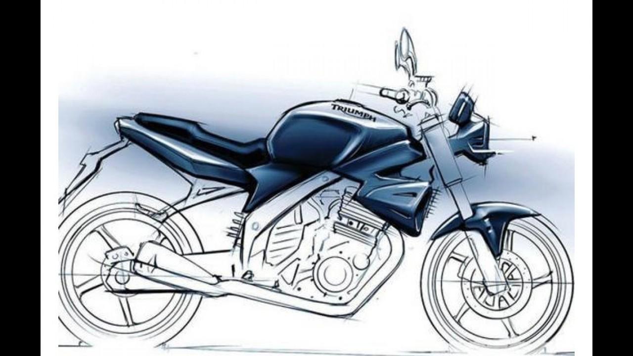 Triumph: projeto de moto 250 cc vai para a geladeira