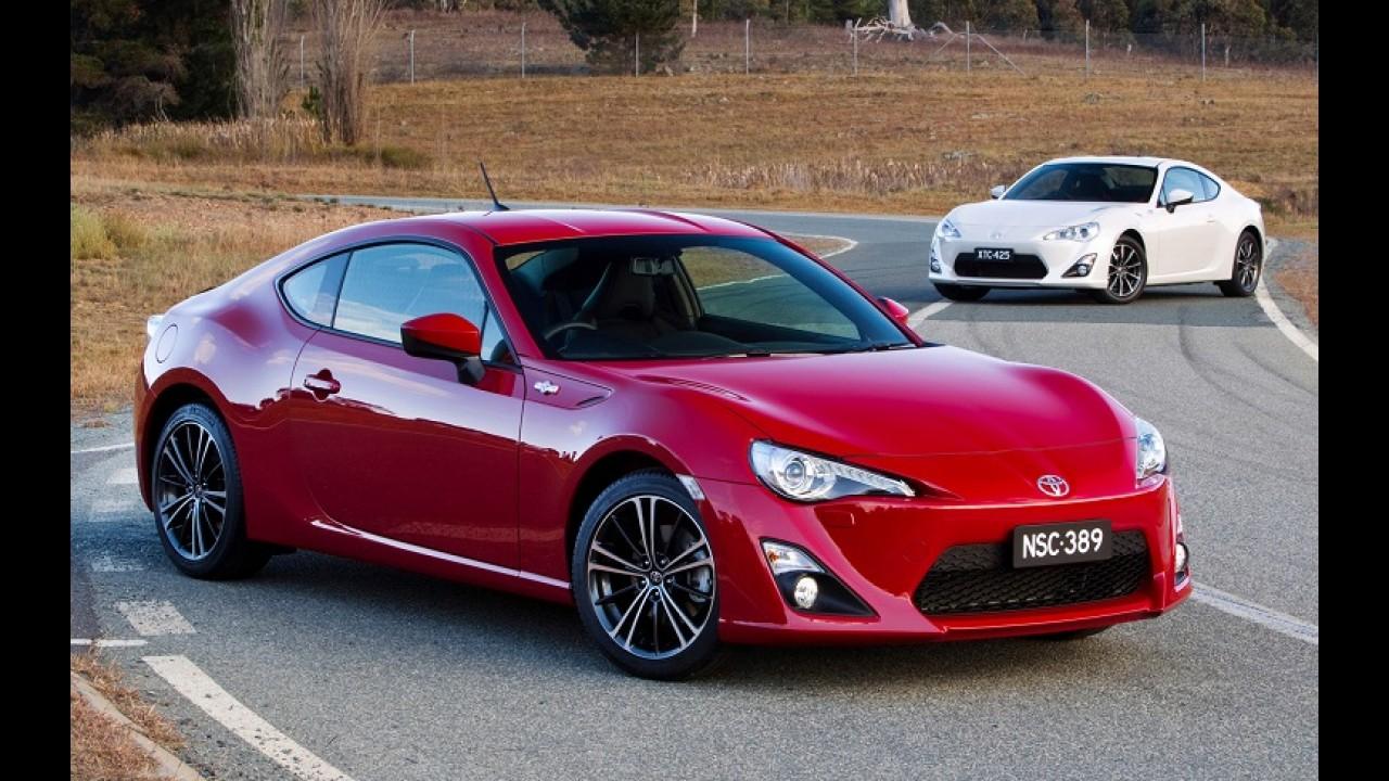 Aprovado: Toyota concede luz verde para produção do GT 86 sedã