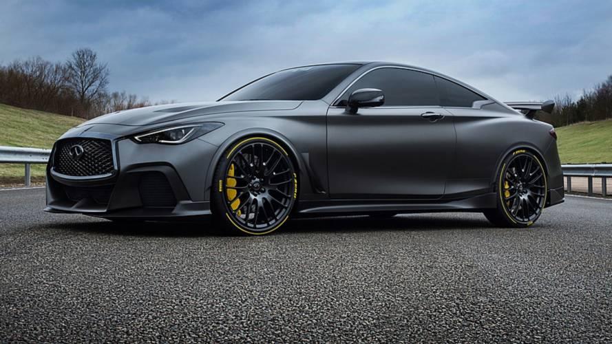 Infiniti Project Black S, DNA da Formula 1