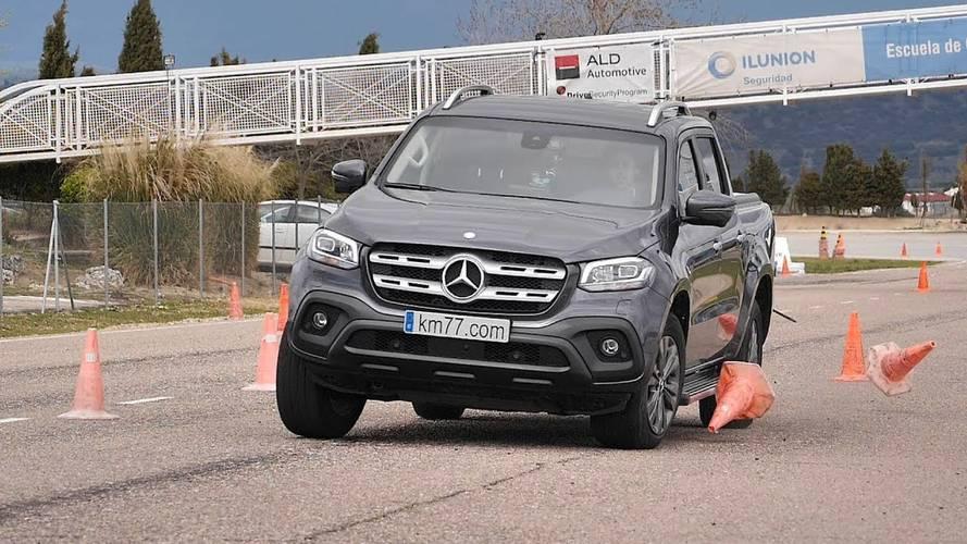 Mercedes X-Class Undergoes Dreaded Moose Test