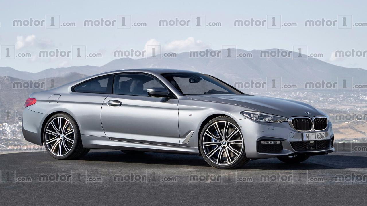 BMW 8 Series rendering