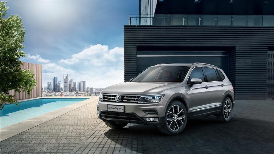 VW Tiguan de sete lugares aparece em fotos oficiais; SUV também será feito no México