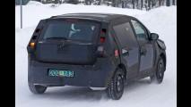 Flagra! Fiat testa nova geração do Punto brasileiro (X6H) na neve