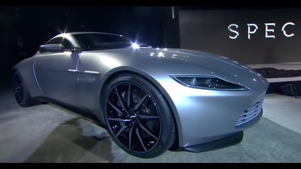 James Bond fica ferido em acidente com Aston Martin DB10 durante filmagens