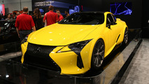 Custom Lexus LC 500 for SEMA live photos
