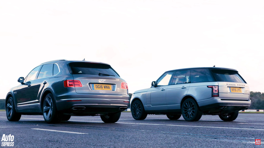 SUV Drag Yarışı: Bentley Bentayga v. Range Rover
