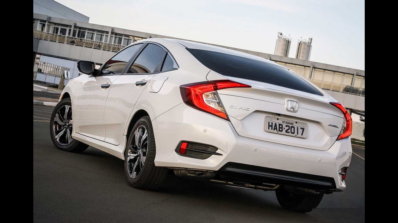 """Novo Civic recebe classificação """"A"""" do Inmetro com consumo de até 14,6 km/l"""