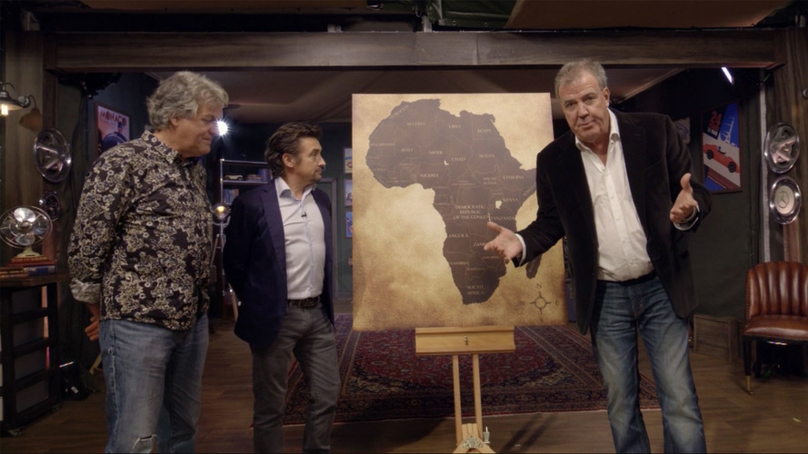The Grand Tour No Longer Touring, Pitches Tent At English Estate