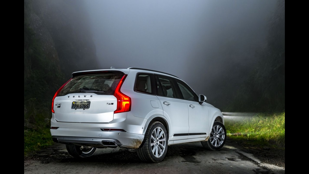 """Mais seguro do mundo: Volvo XC90 ganha prêmio """"Best in Class"""""""