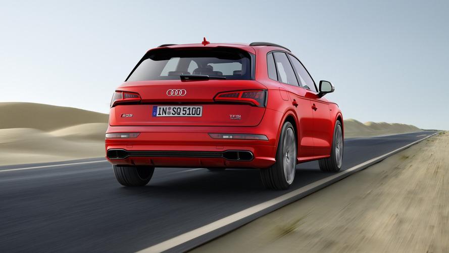 Audi SQ5'in sahte egzoz düzenine inanamayacaksınız