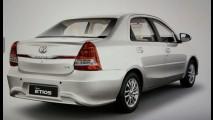 Veja como ficou o visual do Toyota Etios reestilizado para a Índia