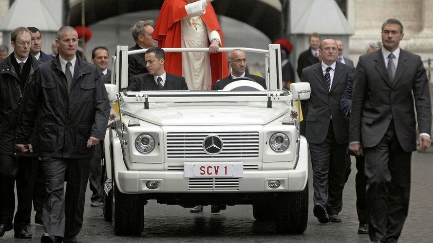 Mercedes Fine Weather Popemobile