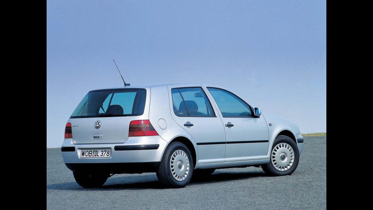 Volkswagen Golf IV, vent'anni di storia