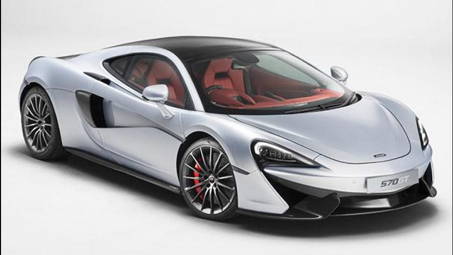 McLaren 570GT, si ammorbidisce senza rammollirsi