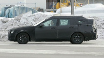 2008 Mercedes C-Class wagon spy photo