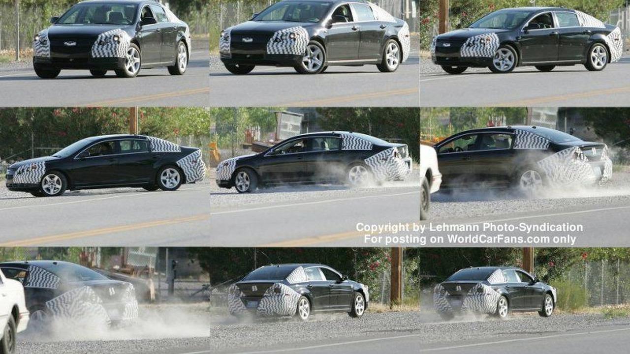Spy Photos Next Gen Chevy Impala