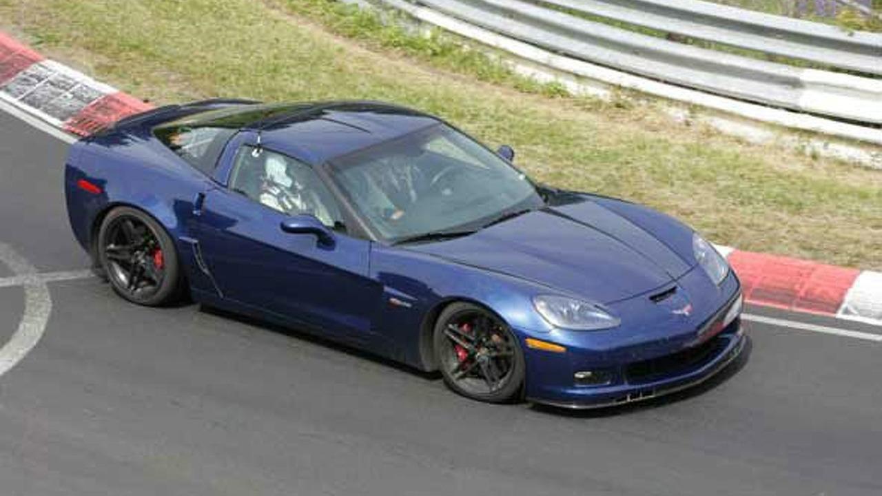 Corvette Z06 Blue Devil Spy Photos photo