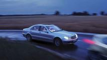 Mercedes Benz PRE-SAFE demonstration