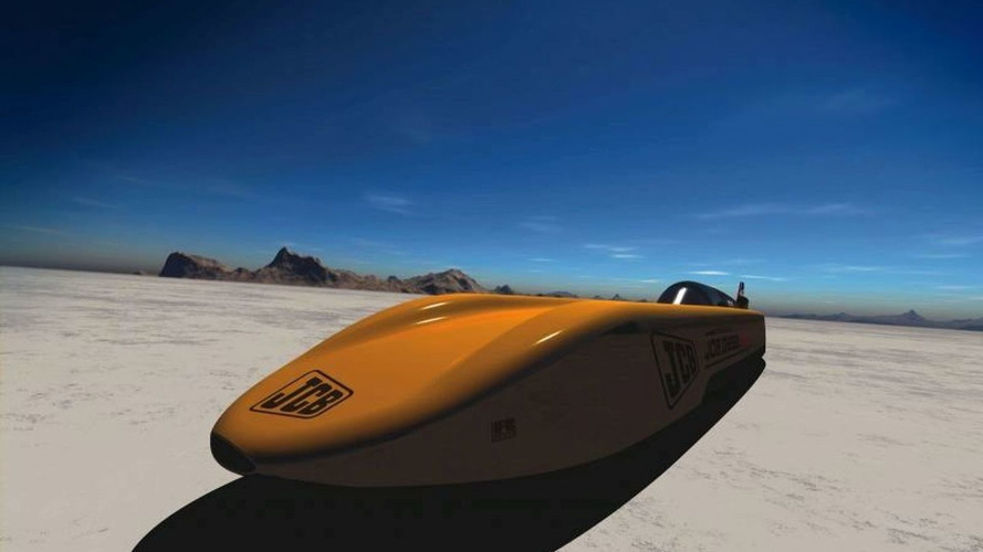 JCB Dieselmax Attempts to Break Diesel Land Speed Record