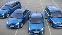 Opel OPC Lineup