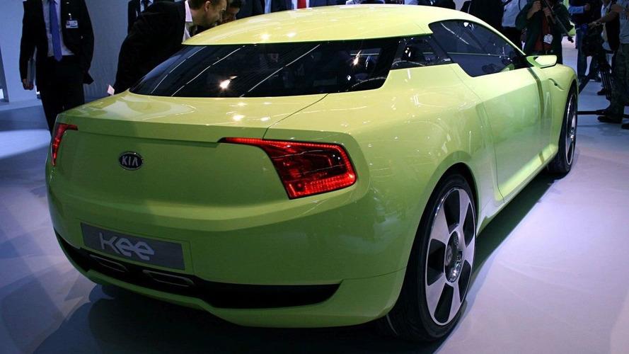 Kia Unveils 'Kee' Coupe Concept