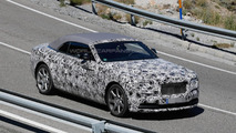 Rolls-Royce Dawn spy photo