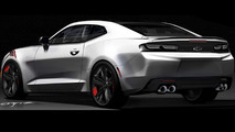 Chevrolet Camaro Red Line Series concept unveiled for SEMA