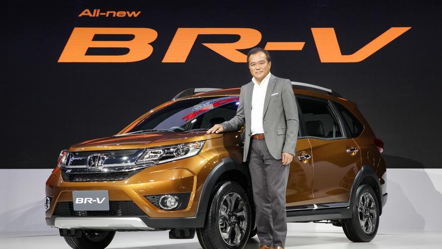 Honda BR-V production model debuts at Thailand Motor Expo