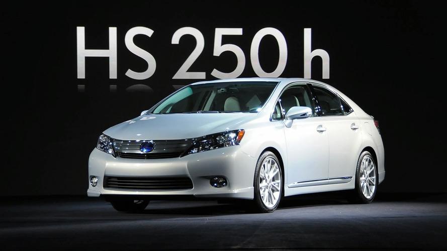 Lexus Recalls 18K Examples Of HS 250h For Hybrid Short Circuit
