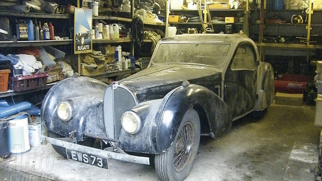 6m 1937 Bugatti Type 57s Restored Ahead Of Auction