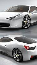 Ferrari 458 Italia - Bianco