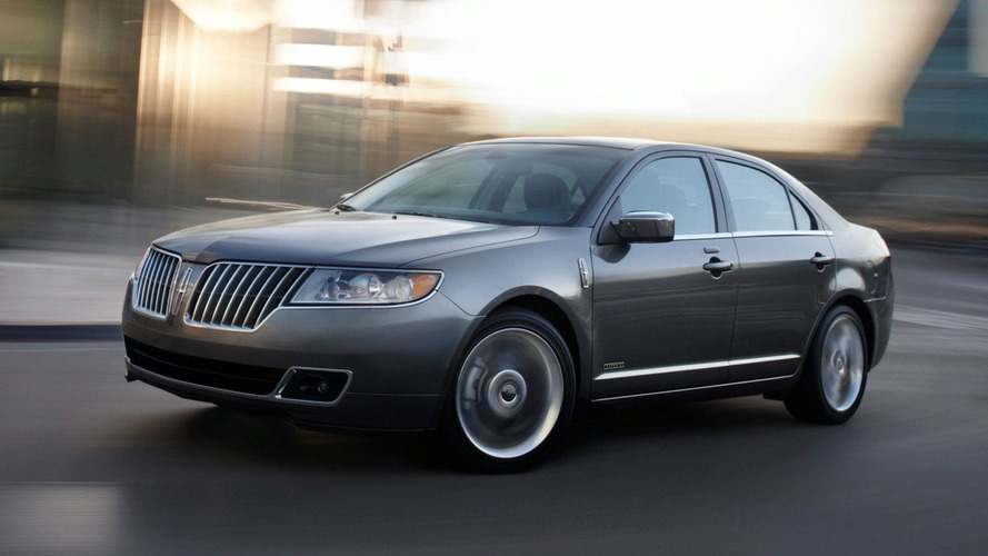2011 Lincoln MKZ Hybrid Revealed for New York Introduction