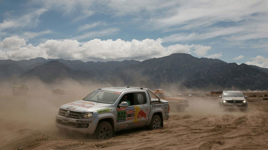 VW Amarok Proves its Mettle in the Gruelling Dakar Rally