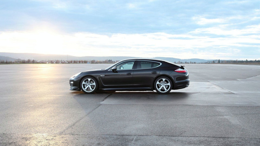 TechArt Releases New Panamera Photos - Announces Individualization Program