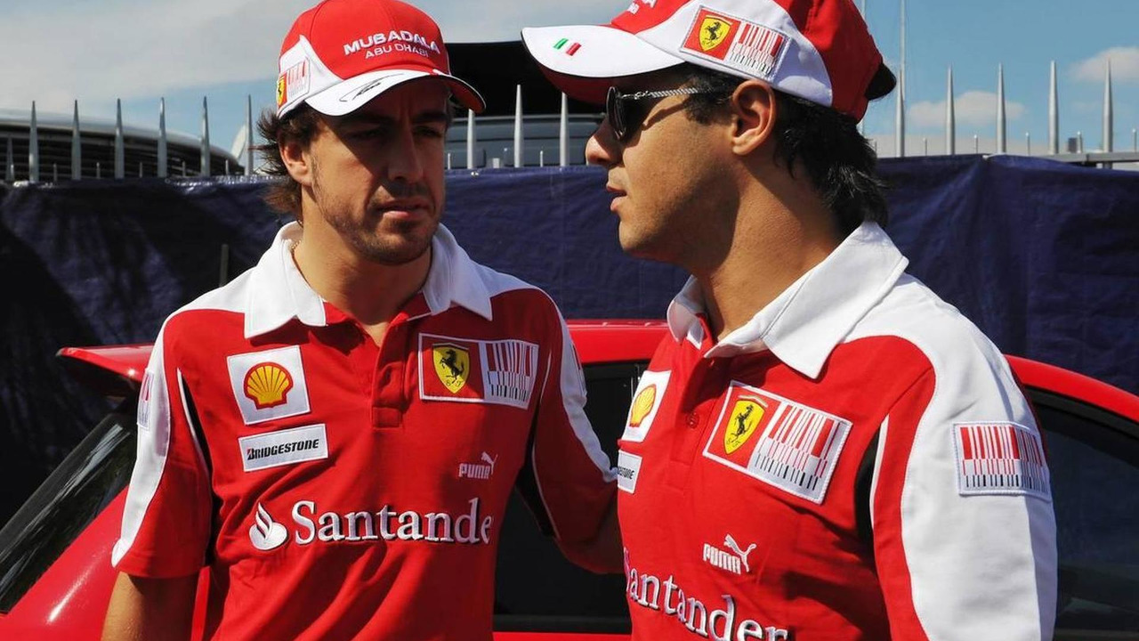 Felipe Massa (BRA), Scuderia Ferrari and Fernando Alonso (ESP), Scuderia Ferrari - Formula 1 World Championship, Rd 14, Italian Grand Prix, Thursday