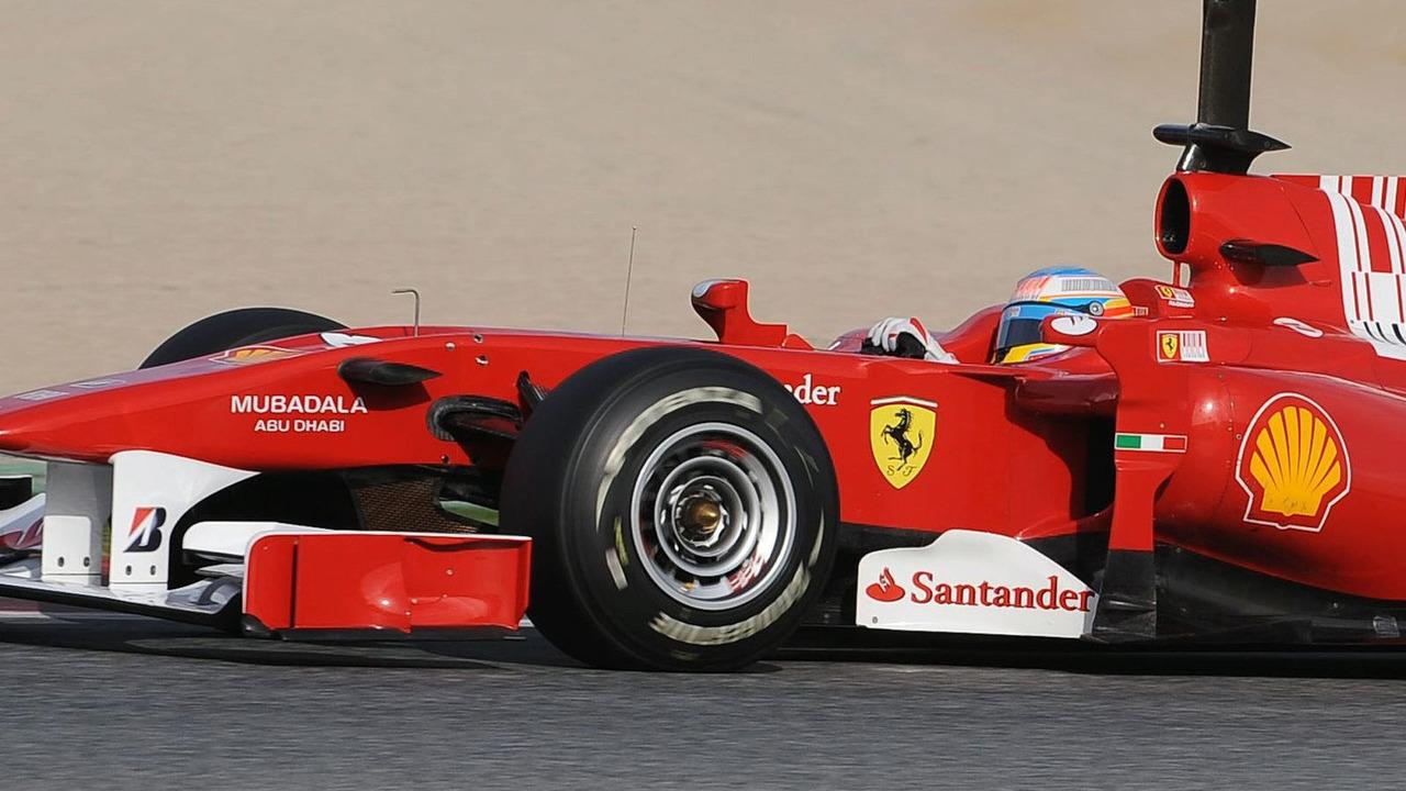 Fernando Alonso (ESP), Scuderia Ferrari - Formula 1 Testing, 25.02.2010, Barcelona, Spain