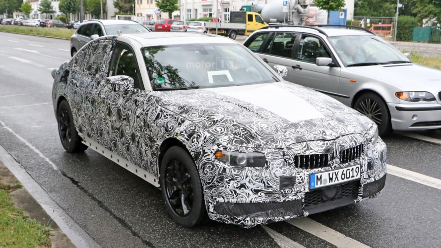 2018 BMW 3-Series prototype spy photos