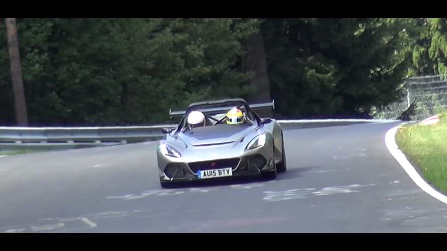 Yeni Lotus 3-Eleven Lansman Öncesi Nürburgring'deydi