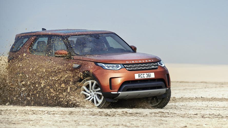 2017 Land Rover Discovery, yeni görünüm ve teknolojileriyle görücüye çıktı